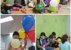2017년 프론티어-풍선아트 3차 봉사활동