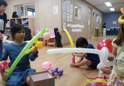 2017년 프론티어-풍선아트 7차 봉사활동